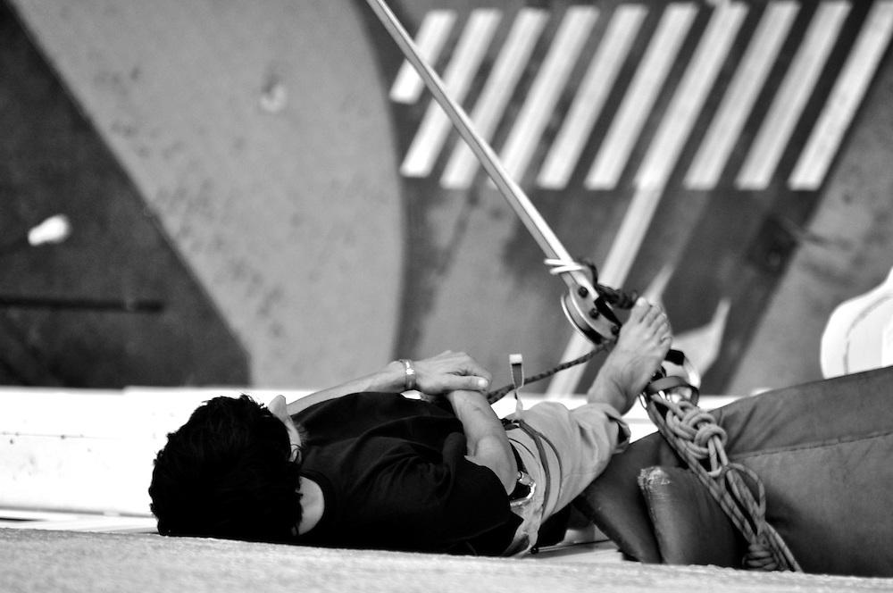 Poland: Lublin Urban Highline Festival   07.2011..Mandatory Credit: PedroPimentel.net