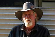Writer Rick Steber  near Prineville, Oregon, USA