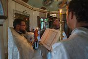 Orthodox prayer ceremony, Kiev