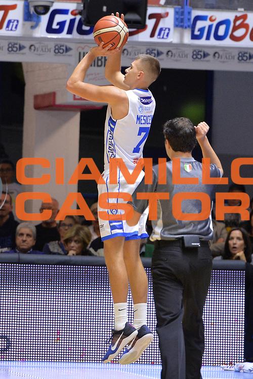 Mesicek Blaz<br /> Happycasa Brindisi - Germani Basket Brescia<br /> Legabasket serieA2017-2018<br /> Brindisi , 29/10/2017<br /> Foto Ciamillo-Castoria/