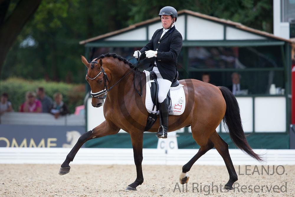 Jim Rasmussen - Samba King 2<br /> FEI World Breeding Dressage Championships for Young Horses 2012<br /> © DigiShots