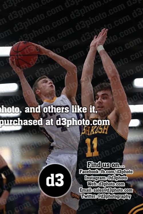 Men's Basketball: University of Wisconsin-Stevens Point Pointers vs. University of Wisconsin-Oshkosh Titans