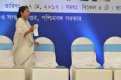 May 27, 2017 - Kolkata, West Bengal, India - Mamata Banerjee Chief Minister of West Bengal during  Six Years celebration Trinamool Congress Government at State Secetriyat office Nabanna on May 27,2017 in Kolkata,India. (Credit Image: © Debajyoti Chakraborty/NurPhoto via ZUMA Press)