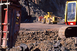 Mining Close up Drilling Equipment Coal