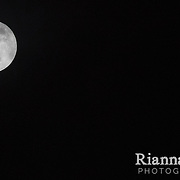 The spectacular rare event of the Full Moon falling on Christmas Day, 25th December 2015, the first time since 1977.