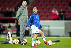 Jack Wilshere of Arsenal passes the ball - Mandatory by-line: Robbie Stephenson/JMP - 23/11/2017 - FOOTBALL - RheinEnergieSTADION - Cologne,  - Cologne v Arsenal - UEFA Europa League Group H