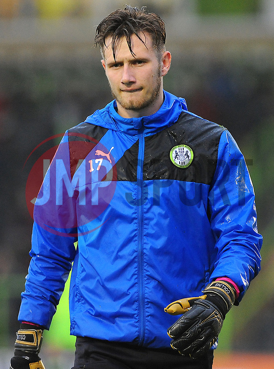Bradley Collins of Forest Green Rovers -Mandatory by-line: Nizaam Jones/JMP - 18/11/2017 - FOOTBALL - New Lawn Stadium - Nailsworth, England - Forest Green Rovers v Crewe Alexandre-Sky Bet League Two
