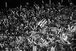 September 23, 2017 - Girona, Catalonia, Spain - Girona fans during the La Liga match between Girona FC v FC Barcelona  at Montilivi Stadium on September 23, 2017 in Girona, Spain. (Credit Image: © Xavier Bonilla/NurPhoto via ZUMA Press)