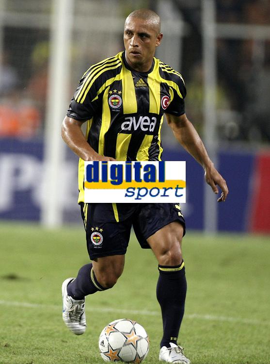 Fotball<br /> Belgia<br /> Kvalifisering UEFA Champions League<br /> 15.08.2007<br /> Fenerbahce v Anderlecht<br /> Foto: PhotoNews/Digitalsport<br /> NORWAY ONLY<br /> <br /> ROBERTO CARLOS