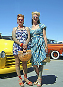 Women wearing 50's Rock 'n' Roll styles, Viva Las Vegas, USA 2006