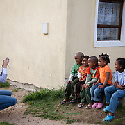 The Stars Foundation visiting Home from Home in Cape Town, South Africa.