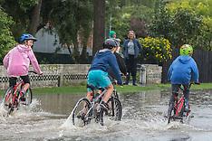 Christchurch-Heathcote River floods as Cyclone Cook heads south