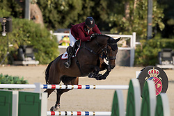 Al Rumaihi Ali Yousef, QAT, Gunder<br /> Furusiyya FEI Nations Cup Jumping Final - Barcelona 2016<br /> © Hippo Foto - Dirk Caremans<br /> 22/09/16