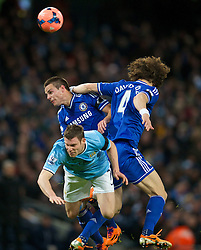 15.02.2014, Etihad Stadion, Manchester, ESP, FA Cup, Manchester City vs FC Chelsea, Achtelfinale, im Bild Manchester City's James Milner, action against Chelsea // during the English FA Cup Round of last 16 Match between Manchester City and FC Chelsea at the Etihad Stadion in Manchester, Great Britain on 2014/02/15. EXPA Pictures © 2014, PhotoCredit: EXPA/ Propagandaphoto/ David Rawcliffe<br /> <br /> *****ATTENTION - OUT of ENG, GBR*****