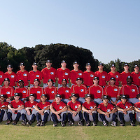 Baseball - MLB European Academy - Tirrenia (Italy) - 21/08/2009 - Players and coaching staff