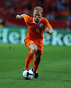 Dirk Kuyt of Holland during the International Friendly between Netherlands and England at the Amsterdam Arena on August 12, 2009 in Amsterdam, Netherlands.