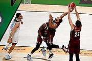 ILCE-9M2 • FE 400mm F2.8 GM OSS<br /> f/4.5 • ISO 3200 • 1/1250<br /> <br /> ChappellJeremy Lamar <br /> Umana Reyer Venezia - Happy Casa Brindisi<br /> LBA Final Eight 2020 Zurich Connect - Finale<br /> Basket Serie A LBA 2019/2020<br /> Pesaro, Italia - 16 February 2020<br /> Foto Mattia Ozbot / CiamilloCastoria