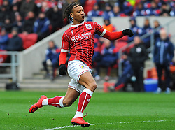 Bobby Reid of Bristol City in action- Mandatory by-line: Nizaam Jones/JMP - 17/03/2018 - FOOTBALL - Ashton Gate Stadium- Bristol, England - Bristol City v Ipswich Town - Sky Bet Championship