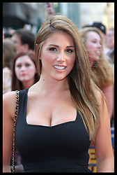 Lucy Pinder  arriving at the premiere of Keith Lemon The Film in London, Monday, 20th August 2012. Photo by: Stephen Lock / i-Images
