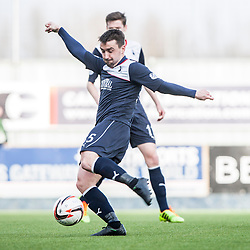 Falkirk's Mark Millar.<br /> Falkirk 1 v 1 Livingston, Scottish Championship game today at The Falkirk Stadium.<br /> &copy; Michael Schofield.