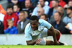 Danny Rose of England reacts after picking up an injury - Mandatory byline: Matt McNulty/JMP - 07966386802 - 22/05/2016 - FOOTBALL - Etihad Stadium -Manchester,England - England v Turkey - International Friendly