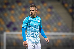Tomi Horvat of Slovenia during friendly Football match between U21 national teams of Slovenia and England, on October 11, 2019 in Ljudski Vrt, Maribor, Slovenia. Photo by Blaž Weindorfer / Sportida
