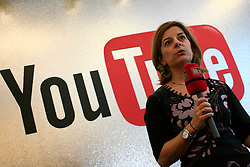 UK ENGLAND LONDON 4DEC12 - Sara Mormino, director of YouTube Content Operations and Next Lab EMEA speaks during the YouTube NextUp training and mentorship programme.....25 winners from YouTube's NextUp competetion were selected to receive an all-expenses paid trip to London where they are attending a week of training and mentorship.....jre/Photo by Jiri Rezac