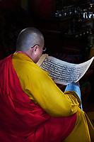 Mongolie, Oulan Bator, Monastere de Gandan (Gandantegchinlen Khiid) // Mongolia, Ulan Bator, Gandan monastery (Gandantegchinlen Khiid)