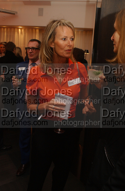 Diana Sieff. Launch of the House and Garden directory of the 100 Leading Interior Designers. Design Club, 3rd Floor. South Dome, Chelsea Harbour. London. 13 March 2006. ONE TIME USE ONLY - DO NOT ARCHIVE  © Copyright Photograph by Dafydd Jones 66 Stockwell Park Rd. London SW9 0DA Tel 020 7733 0108 www.dafjones.com