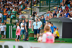 Simon Rozman, head coach of NK Domzale during football match between NS Mura and NK Domzale in 3rd Round of Prva liga Telekom Slovenije 2018/19, on Avgust 05, 2018 in Mestni stadion Fazanerija, Murska Sobota, Slovenia. Photo by Mario Horvat / Sportida