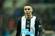 Miguel Almiron (#24) of Newcastle United during the Premier League match between Newcastle United and Chelsea at St. James's Park, Newcastle, England on 18 January 2020.