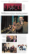 """Black History Month photography piece on singer Maurice Williams of Maurice Williams and the Zodiacs. Their song, """"Stay"""", was on the Dirty Dancing soundtrack in 1987."""