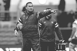 Bristol Bears Head Coach Pat Lam points- Mandatory by-line: Nizaam Jones/JMP - 19/01/2019 - RUGBY - Ashton Gate Stadium - Bristol, England - Bristol Bears v Enisei-STM - European Rugby Challenge Cup