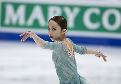 February 8, 2019 - California, U.S - Yelim Kin of South Korea competes in the Ladies Free Skate during the ISU Four Continents Figure Skating Championship at the Honda Center in Anaheim, California on February 8, 2019. (Credit Image: © Ringo Chiu/ZUMA Wire)