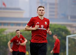 NANNING, CHINA - Saturday, March 24, 2018: Wales' Ryan Hedges during a training session at the Guangxi Sports Centre ahead of the 2018 Gree China Cup International Football Championship final match against Uruguay. (Pic by David Rawcliffe/Propaganda)