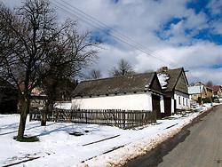 CZECH REPUBLIC VYSOCINA NEDVEZI 23MAR08 - 66 Nedvezi cottage, an old farmhouse with a history spanning two centuries...jre/Photo by Jiri Rezac..© Jiri Rezac 2008..Contact: +44 (0) 7050 110 417.Mobile:  +44 (0) 7801 337 683.Office:  +44 (0) 20 8968 9635..Email:   jiri@jirirezac.com.Web:    www.jirirezac.com..© All images Jiri Rezac 2007 - All rights reserved.