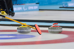 Wheelchair Curling Finals at the 2014 Sochi Winter Paralympic Games, Russia