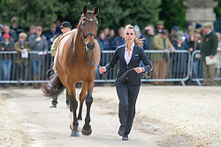 Blom Merel, (NED), Rumour Has It<br /> First Horse Inspection - Mitsubishi Motors Badminton Horse Trials <br /> Badminton 2015
