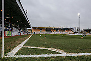 Abbey Stadium during the Sky Bet League 2 match between Cambridge United and York City at the R Costings Abbey Stadium, Cambridge, England on 20 February 2016. Photo by Simon Davies.