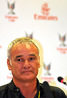 Photo: Richard Lane Photography. Emirates Cup Press Conference. 01/08/2008. The Emirates Cup. Juventus manager, Claudio Ranieri.