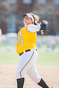 Rowan Univeristy Softball at Rutgers University - Camden in Camden, NJ on Thursday April 14, 2011. (photo / Mat Boyle)