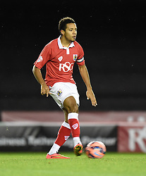 Bristol City captain Korey Smith in action during the FA Cup third round replay between Bristol City and Doncaster Rovers at Ashton Gate on January 13, 2015 in Bristol, England. - Photo mandatory by-line: Paul Knight/JMP - Mobile: 07966 386802 - 13/01/2015 - SPORT - Football - Bristol - Ashton Gate Stadium - Bristol City v Doncaster Rovers - FA Cup third round replay