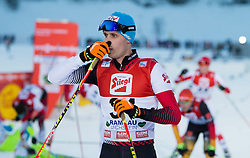 21.12.2014, Nordische Arena, Ramsau, AUT, FIS Nordische Kombination Weltcup, Langlauf, im Bild Lukas Klapfer (AUT) // during Cross Country Gundersen 10 km of FIS Nordic Combined World Cup, at the Nordic Arena in Ramsau, Austria on 2014/12/21. EXPA Pictures © 2014, EXPA/ JFK