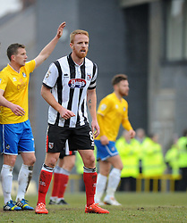 Grimsby's Craig Disley - Photo mandatory by-line: Neil Brookman/JMP - Mobile: 07966 386802 - 14/02/2015 - SPORT - Football - Cleethorpes - Blundell Park - Grimsby Town v Bristol Rovers - Vanarama Football Conference