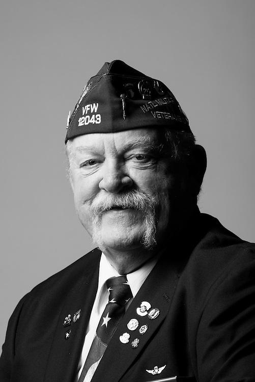 Lewis Wood<br /> Army<br /> E-8<br /> Aviation<br /> Jan. 1969 - July 1992<br /> Vietnam, Desert Storm<br /> <br /> Veterans Portrait Project<br /> St. Louis, MO