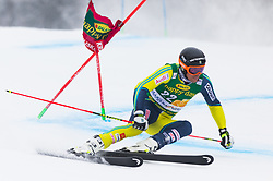 Andre Myhrer of Sweden during 1st run of Men's Giant Slalom race of FIS Alpine Ski World Cup 57th Vitranc Cup 2018, on 3.3.2018 in Podkoren, Kranjska gora, Slovenia. Photo by Urban Meglič / Sportida