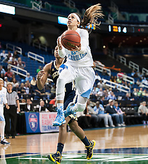 2015 ACC Women's Tourney UNC vs Geogia Tech