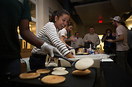 """The Russ College Faculty and Student Academic Honor Councils will be serving up """"honorcakes"""" and hot cocoa at a pancake dinner and honor code signing on Tues., Dec. 3, from 5-6 p.m. in the Academic & Research Center living room atrium. Stop by to chat with Dean Dennis Irwin and sign the Russ College honor code banner."""