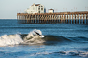 Surfer in Oceanside, CA.