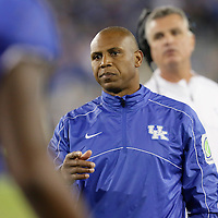 September 29, 2012 - Lexington, Kentucky, USA - UK head coach Joker Phillips and the University of Kentucky plays South Carolina at Commonwealth Stadium. South Carolina won the game 38-17. (Credit Image: © David Stephenson/ZUMA Press).